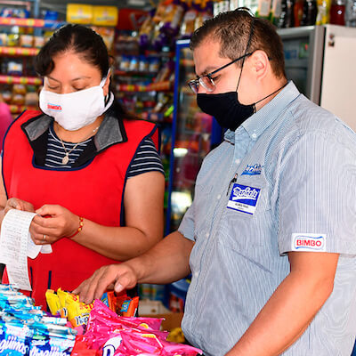 Grupo Bimbo Begins Support for Small Shopkeepers, Delivers 1 Million Masks