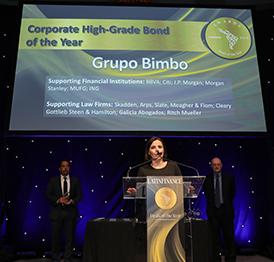 Otorgan a Grupo Bimbo premio Bono Corporativo de Grado de Inversión del Año