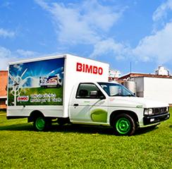 Grupo Bimbo Flota de vehículos