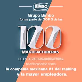 Grupo Bimbo Elegida Como La Manufacturera Mexicana Más Importante
