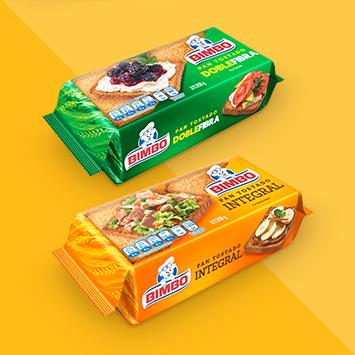 Grupo Bimbo - Productos Pan tostado